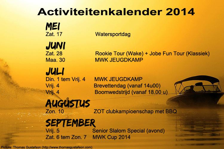 Activiteitenkalender2014